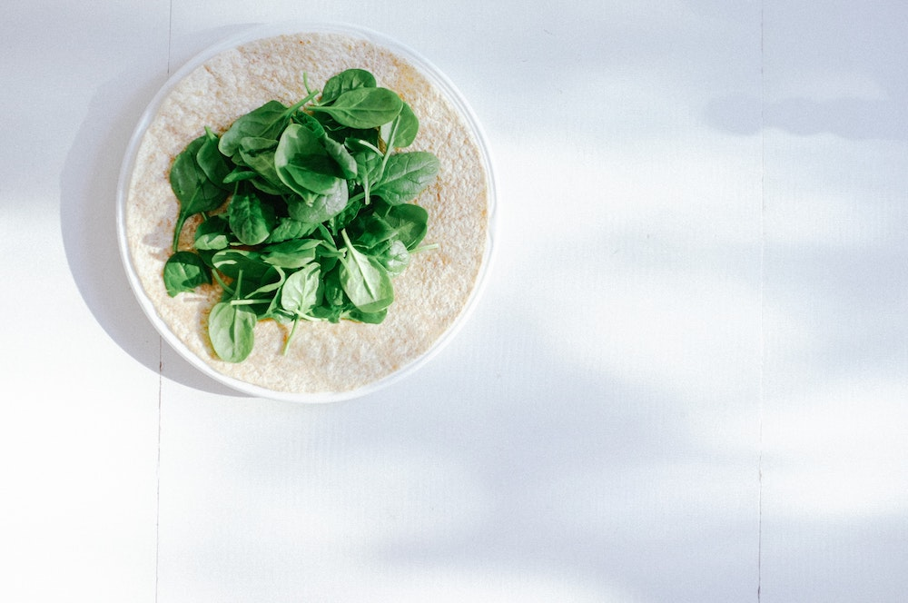 Spinach: a rich source of vitamins for skin