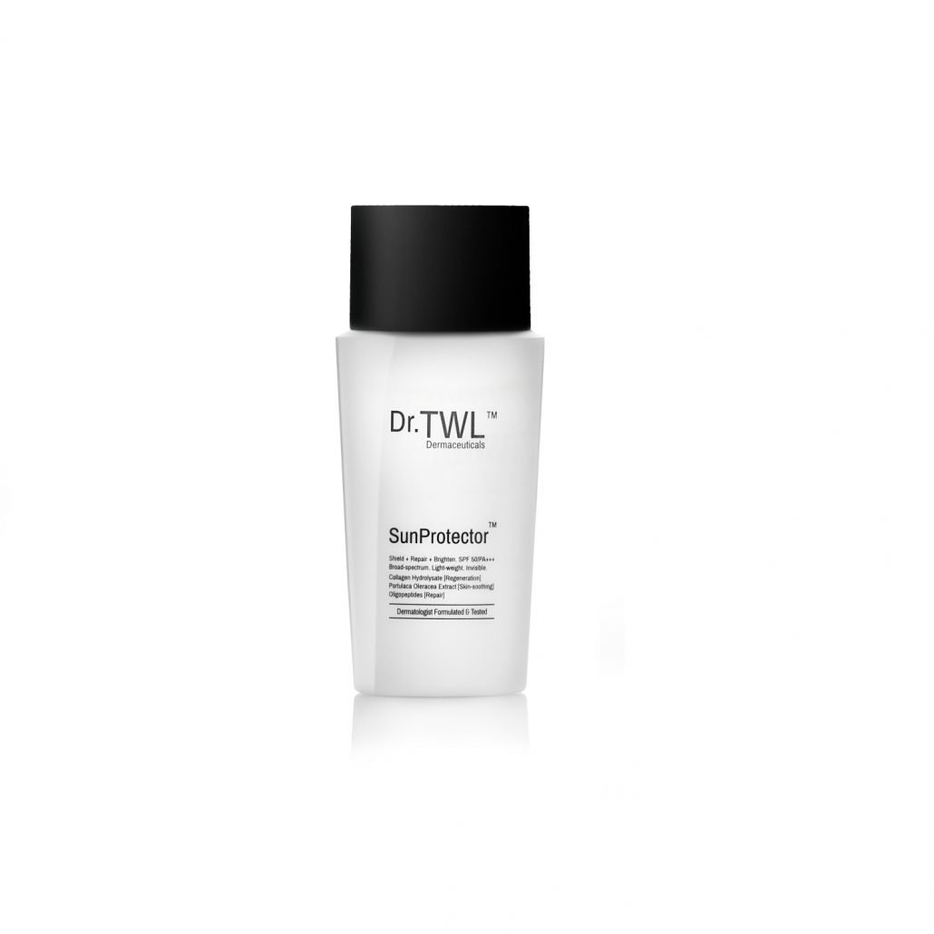 Sunscreen that contains acetyl-hexapeptide 8, a BOTOX alternative, for anti ageing
